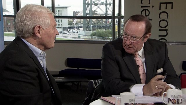Lord Ashdown and Andrew Neil