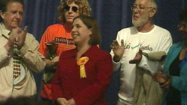 Archive of Sarah Teather winning by-election