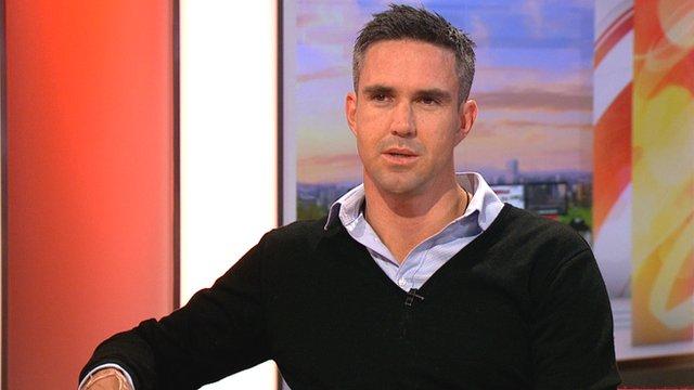 Former England batsman Kevin Pietersen