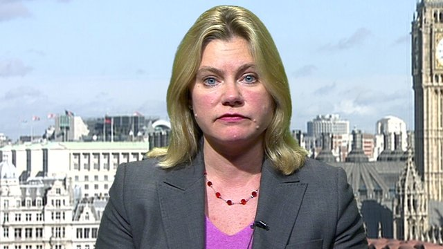 Secretary of State for International Development, Justine Greening