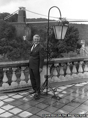 Cary Grant at the Avon Gorge Hotel