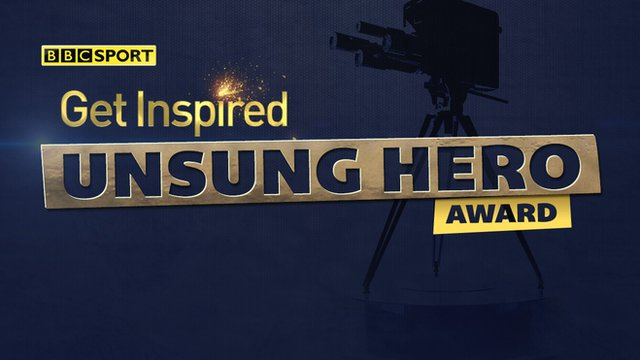 Get Inspired Unsung Hero Logo