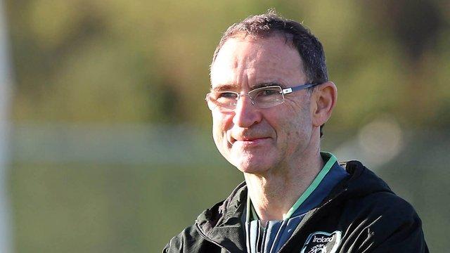 Republic of Ireland manager Martin O'Neill