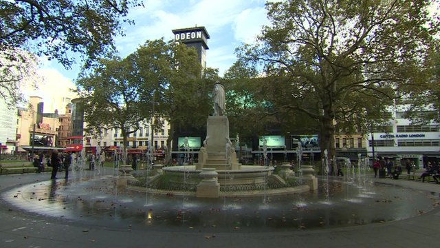 Leicester Square in London