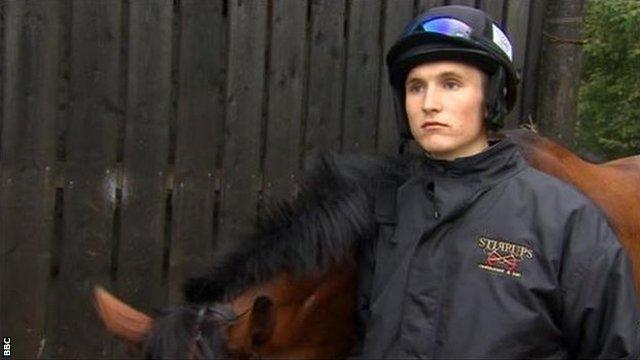 Apprentice jockey Tom Bellamy