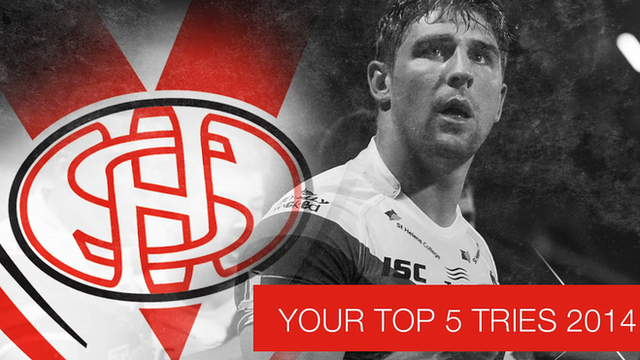 St Helens best five tries of the season