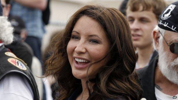 Bristol Palin, shown in 2011