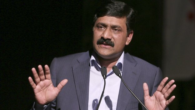 "Ziauddin Yousafzai, the father of Pakistani schoolgirl activist Malala Yousafzai, and a United Nations Special Advisor on Global Education, speaks at a youth symposium and cultural show held in his daughter""s honour in Port-of-Spain"