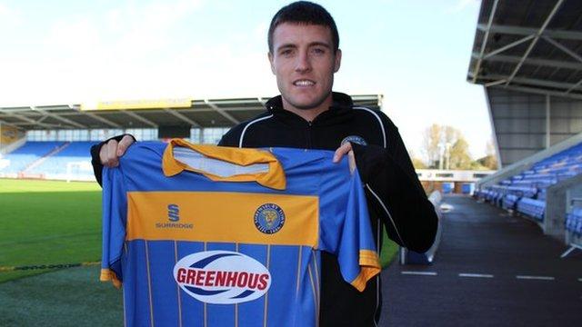 Shrewsbury Town loan striker Bobby Grant