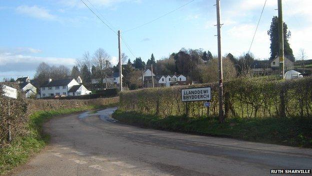 Llanddewi Rhydderch: an unlikely home for a diplomatic base