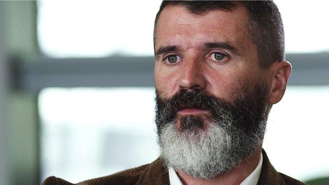 Roy Keane speaks to Football Focus