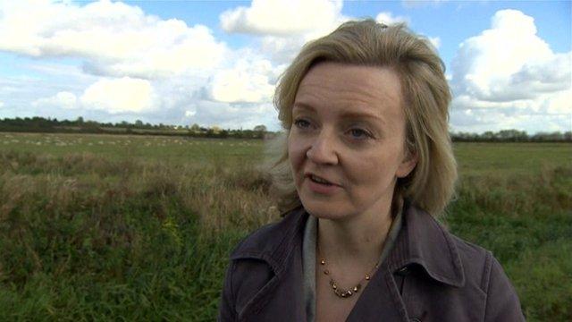 Environment Secretary Liz Truss