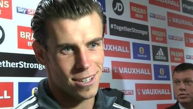 Gareth Bale post-match interview