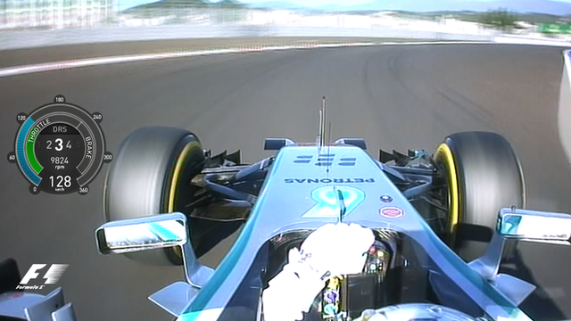 Formula 1: Lewis Hamilton's pole lap in Sochi