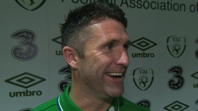 Robbie Keane became the leading scorer in European Championship qualifiers history