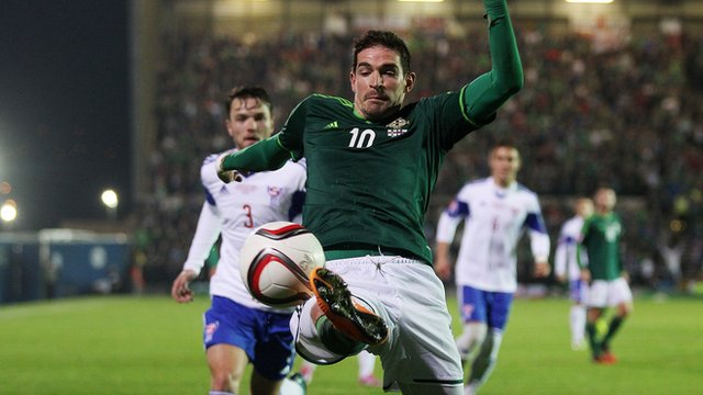 Kyle Lafferty has scored two games in the first two qualifiers
