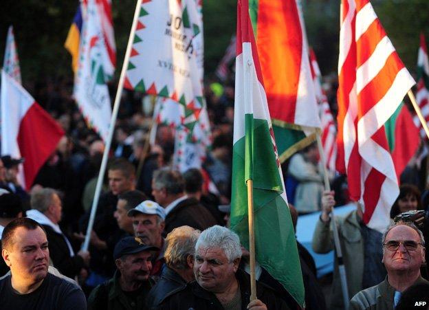 Jobbik rally - file pic