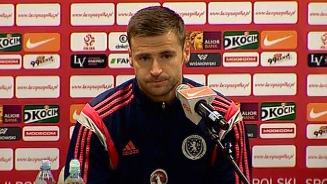 Interview - Scotland goalkeeper Gordon Marshall
