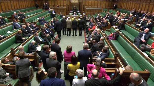 MPs vote on Palestine statehood motion
