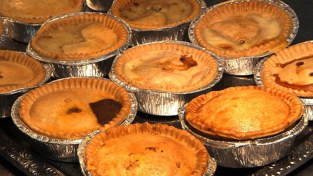 Pies at Morecambe FC