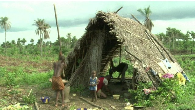 Farmer in Sierra Leone