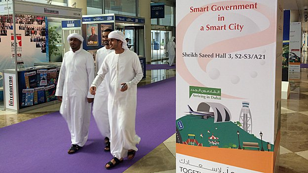 Gitex visitors