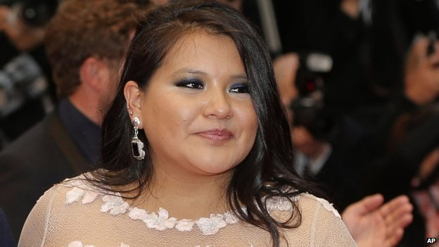 Misty Upham, seen on 17 May 2013
