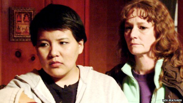 Misty Upham and Melissa Leo in Frozen River