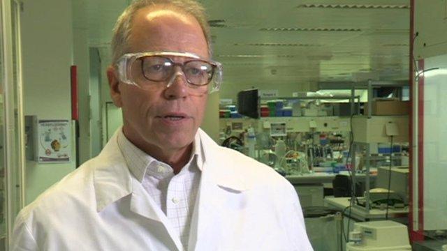 Dr Ripley Ballou, head of GSK's Ebola vaccine research