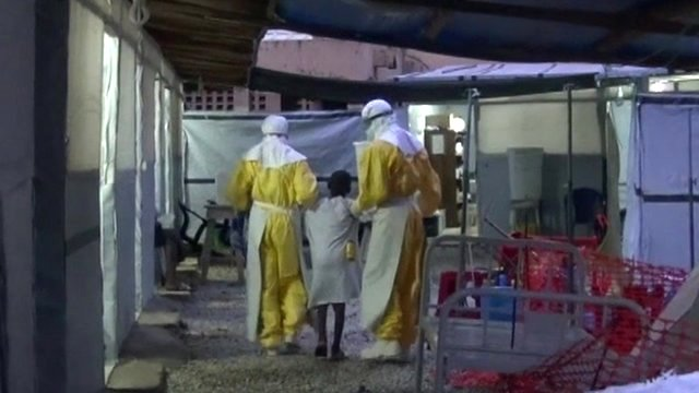 MSF treatment centre in Guinea