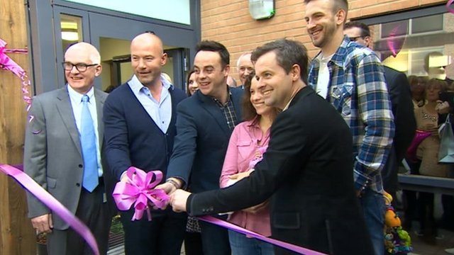 The centre is opened