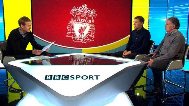 BBC Sport's Dan Walker, Philip Neville and Mark Lawrenson on Focus Forum