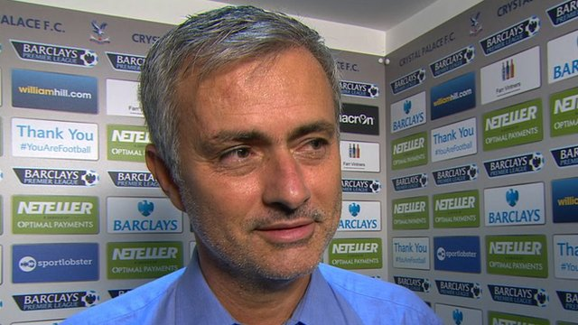 Chelsea manager Jose Mourinho praises striker Cesc Fabregas