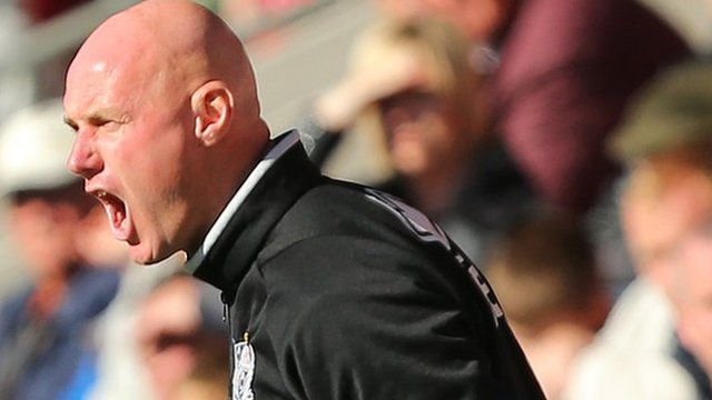 Port Vale interim manager Rob Page