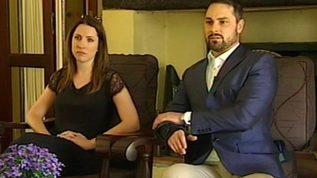Aimee and Carl Pistorius