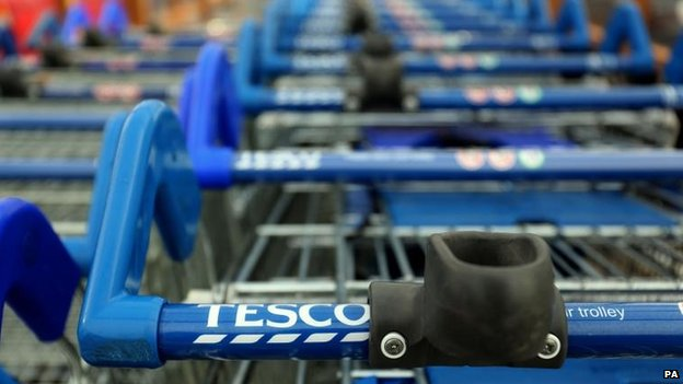 Tesco trollies
