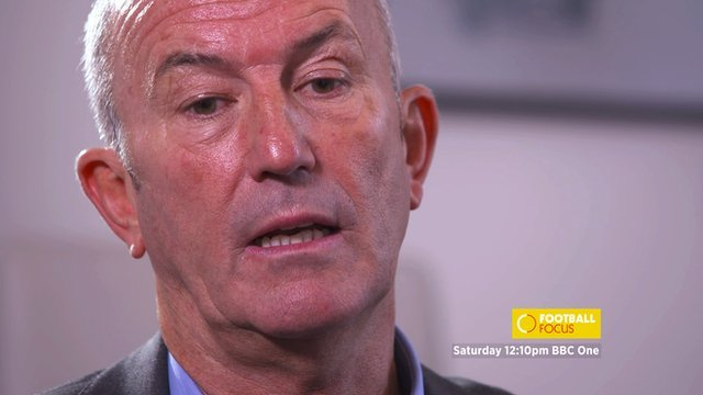 Former Crystal Palace and Stoke manager Tony Pulis