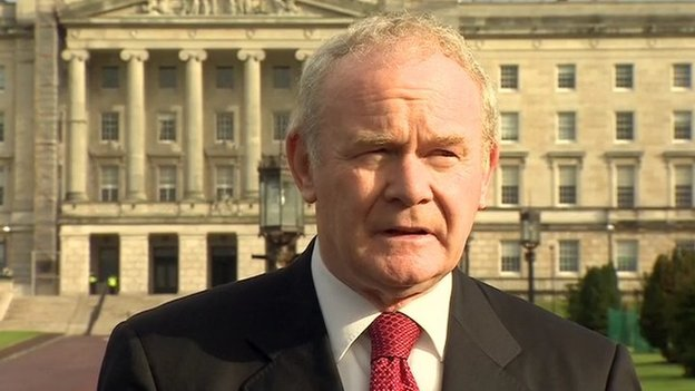 Martin McGuinness said he believed the allegation made by Ms Cahill