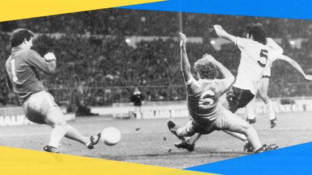 Tottenham's Ricky Villa scores his famous goal in the 1981 FA Cup final