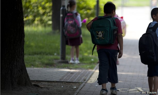 Roma schoolchildren, Czech Republic
