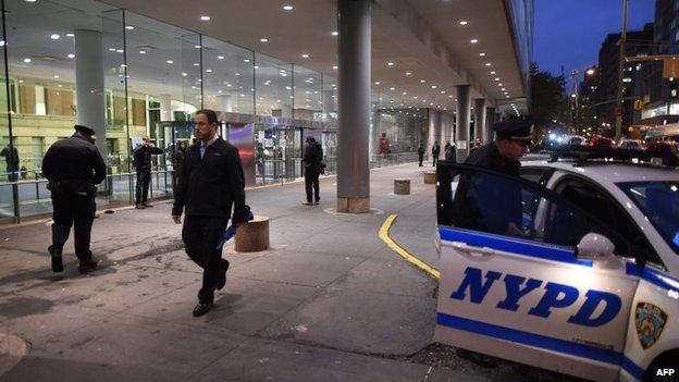 ebola new york