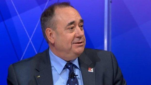 Ailig Salmond air Question Time