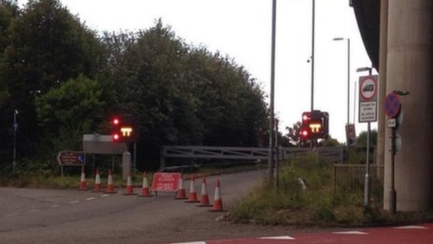 Junction 41 closed