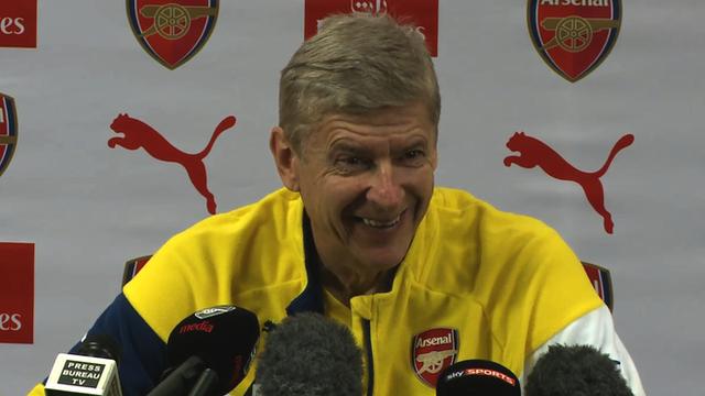 Arsene Wenger stays silent on Arsenal v Man Utd pizza culprit