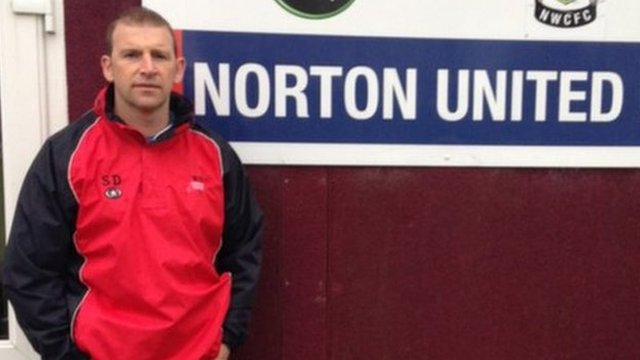 Scott Dundas, manager of Norton United