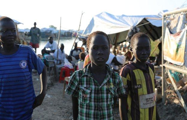 Children in South Sudan 24 October 2014