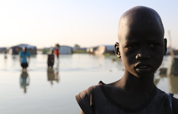 Children in South Sudan - October 2014