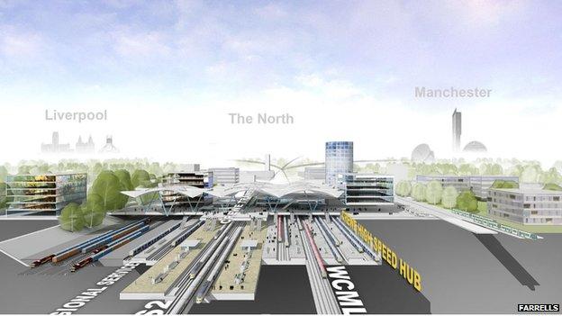 Proposed Crewe station design