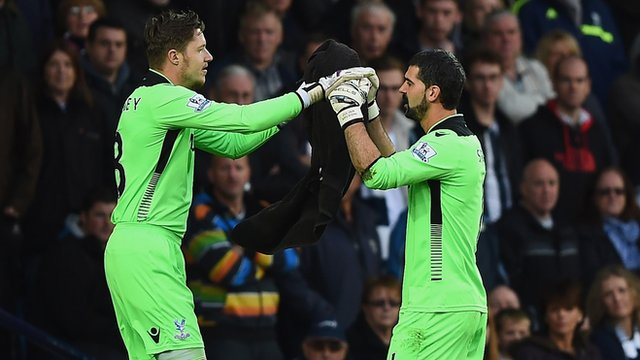 West Brom 2-2 Crystal Palace: Warnock questions 'assault' on Speroni