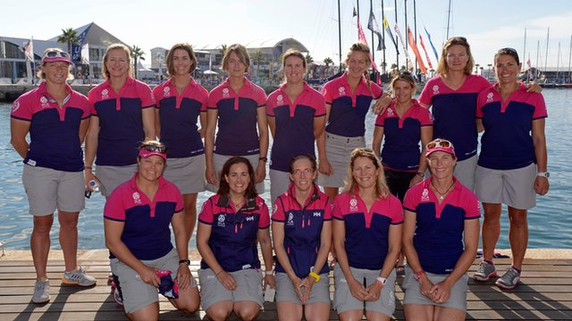 Team SCA crew members